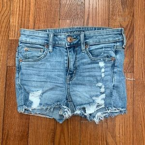 American eagle cut off Jean shorts